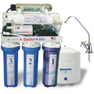 Máy lọc nước R.O 6 cấp với đèn cực tím UV 10 lít/giờ